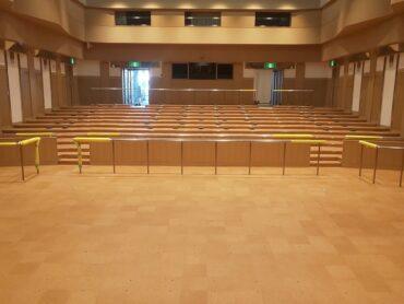 産業振興センター 天井・電動シャッター改修工事